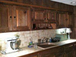 Sink and Cabinets