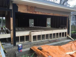 4 garage floor framing