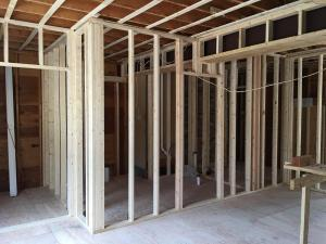 5 interior walls framing